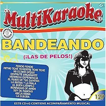 Karaoke: Bandeando B. Recoditos La Arrolladora - Karaoke: Bandeando B. Recoditos La Arrolladora [CD] USA import