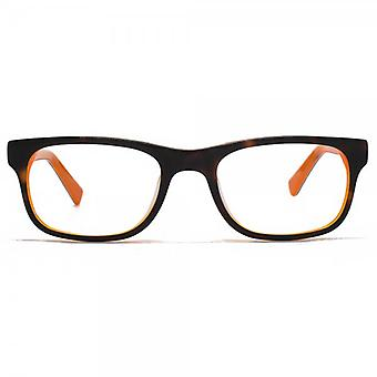 Hook LDN Kashmir Glasses In Tortoiseshell On Orange