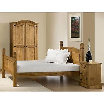 Birlea 135cm Corona High End Bed Pine