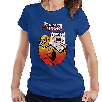 Karate Time Adventure Kid Women's T-Shirt