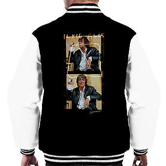 Howard Marks Mr Nice Photo Reel Men's Varsity Jacket