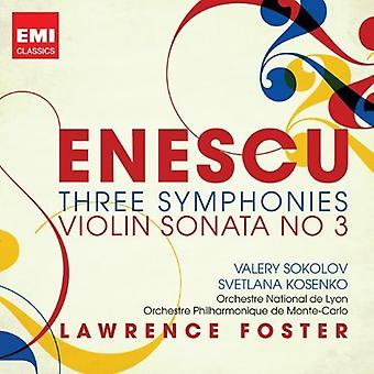 Enescu: Three Symphonies - Violin Sonata No 3 / Va - Enescu: Three Symphonies - Violin Sonata No 3 / Va [CD] USA import