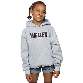 Paul Weller Girls Paisley Logo 2 Hoodie