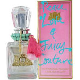 Juicy Couture EDP för fred, kärlek och Juicy Couture Eau de Parfum 100ml sprej