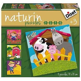 Diset Naturin Farm (Toys , Boardgames , Puzzles)