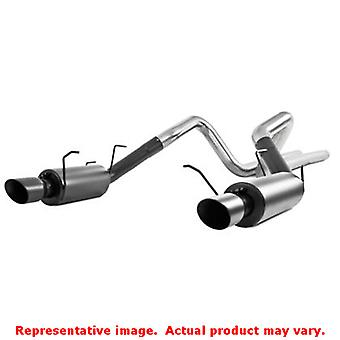 MBRP Exhaust - Black Series S7258BLK Fits:FORD 2011 - 2014 MUSTANG GT