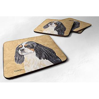 Carolines Treasures  SC9120FC Set of 4 Cavalier Spaniel Foam Coasters