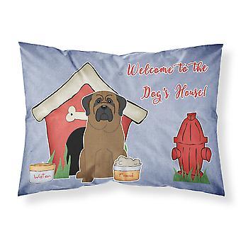 Dog House Collection Bullmastiff tissu taie d'oreiller Standard