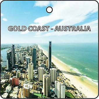Gold Coast - Australia Car Air Freshener