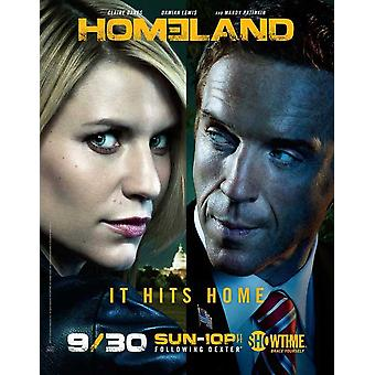 Homeland (TV) Movie Poster (11 x 17)