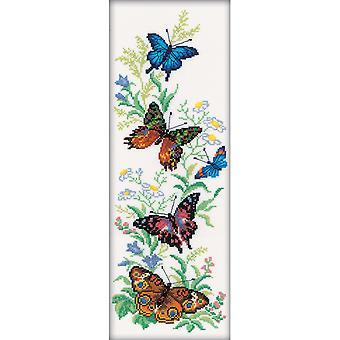 Flying Butterflies Counted Cross Stitch Kit-6.25
