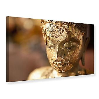 Canvas Print Head Of A Buddha