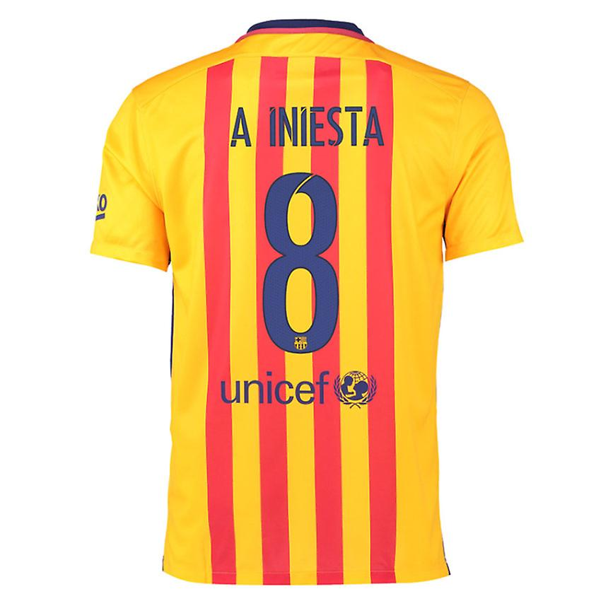 2015-16 Barcelone maillot (Iniesta 8)