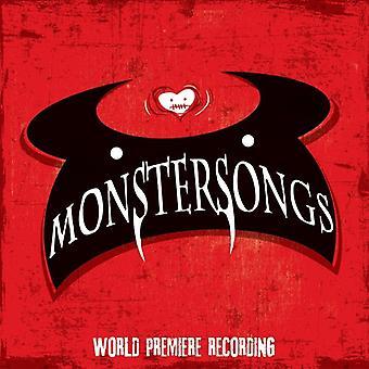 Murney * Julia / Tyce / Iconis * Joe - Monstersongs (World Premiere optagelse) [CD] USA importerer
