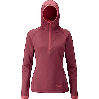 Rab Womens Nucleus Hoody Rococco (UK Size 12)