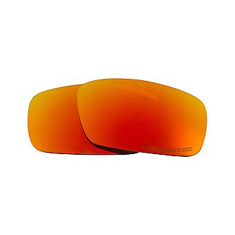 Best SEEK Polarized Replacement Lenses Oakley CRANKSHAFT Black Iridium Red