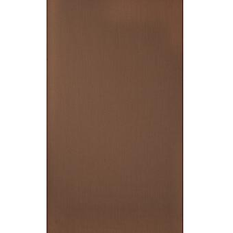 Graham & Brown Wallpaper Roll - Plain Rhapsody Brown Design - Colour: 30-308
