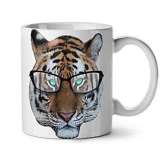 Tigre Hippie silvestres té blanco nueva taza de café de cerámica 11 oz | Wellcoda