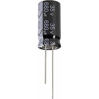 Electrolytic capacitor Radial lead 5 mm 1000 µF 2