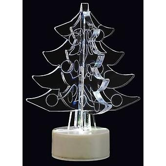 LED christmas decoration Christmas tree RGB LED Polarlite LBA-51-011 Transparent