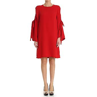P.A.R.O.S.H. women's D722012PANTERY009 red polyester dress