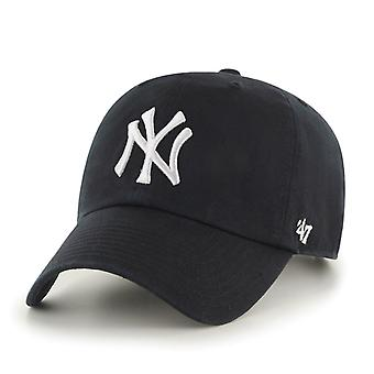 47 Brand MLB New York Yankees Clean Up Cap - Black