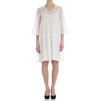 Caractere ladies 7094A0606411 white viscose dress