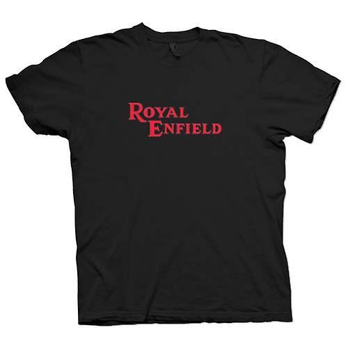 Heren T-shirt - Royal Enfield Logo - klassieke motor