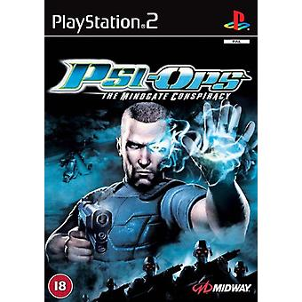 Psi-Ops The Conspiracy Mindgate (PS2)