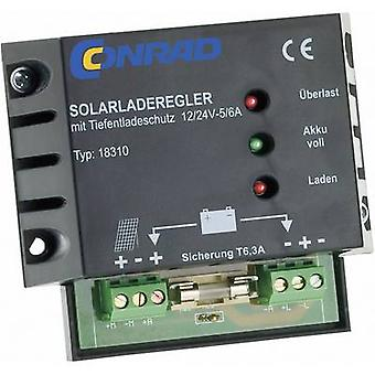 18310 Charge controller PWM 12 V, 24 V 6 A