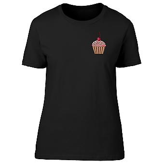 Chocolate Cupcake Pocket Doodle Tee Women's -Image by Shutterstock