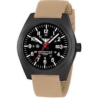 KHS acero interceptor negro reloj de KHS. INCBS. ST