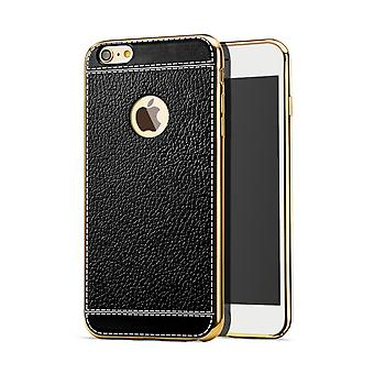 Cell phone case for Apple iPhone 7 protective case bumper black leather bag