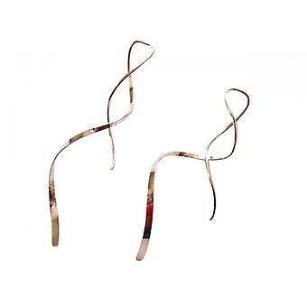 Sølv øreringe 925 sølv CHAKA raffineret design øreringe