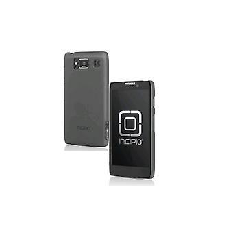 Funda incipio pluma para Motorola Droid RAZR MAXX HD - gris iridiscente