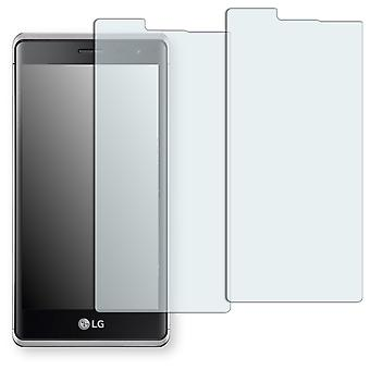 LG class screen protector - Golebo Semimatt protector (deliberately smaller than the display, as this is arched)