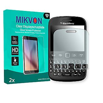 BlackBerry 9720 Screen Protector - Mikvon Clear (Retail-Paket mit Zubehör)