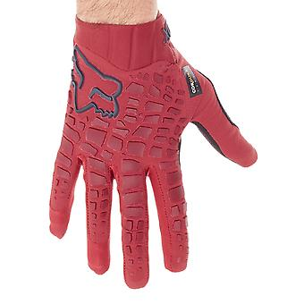 Fox Dark Red 2017 Sidewinder MTB Gloves