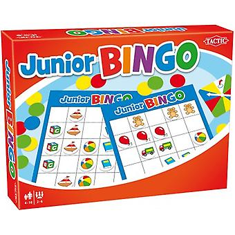 Jeu de Bingo de Junior de tactique