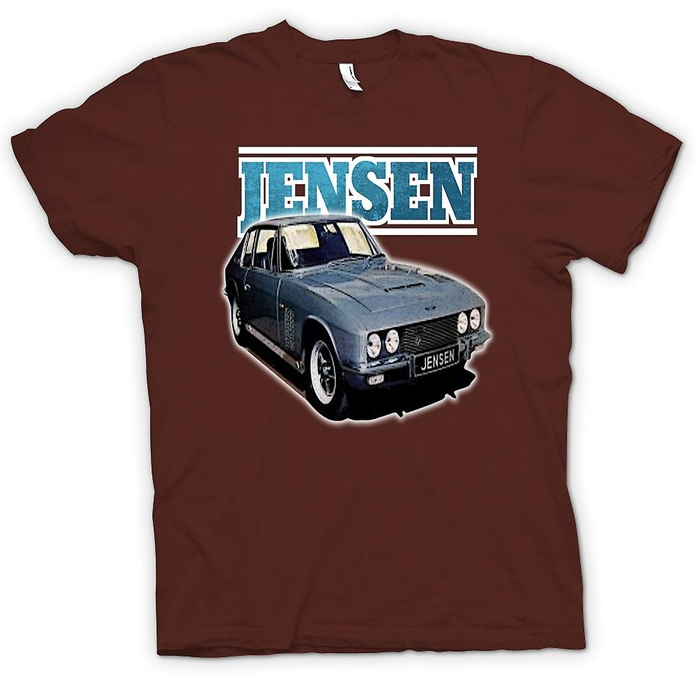 Herr T-shirt-Jensen Interceptor