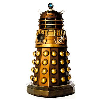 Dalek (Gold) Tabletop (Doctor Who)- Tabletop Cardboard Cutout / Standee