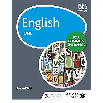 English for Common Entrance One by Susan Elkin - 9781471867019 Book