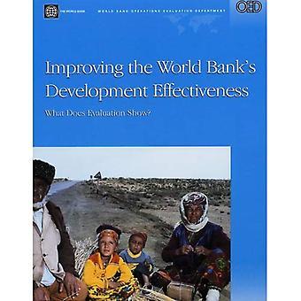 Improving the World Bank's development effectiveness