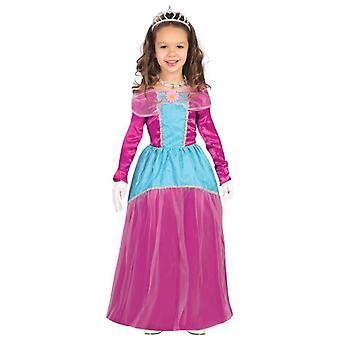 Girls Pink Princess Fairytale Fancy Dress Costume