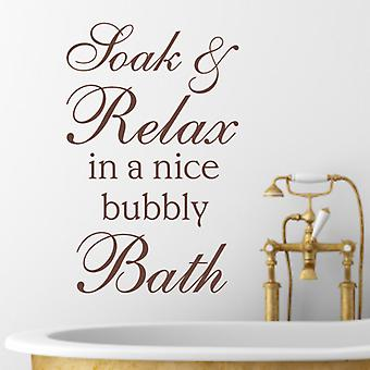 Bathroom Wall Sticker Art