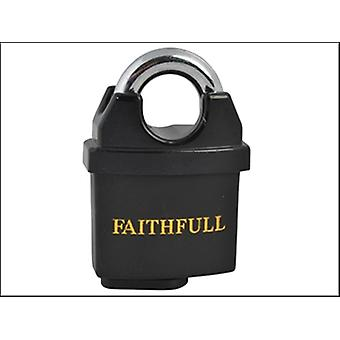 Faithfull PVC enduit cadenas en laiton 50mm