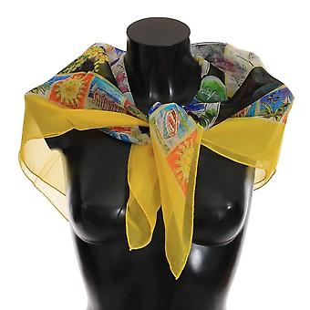 Multicolor Silk Italian Riviera Scarf -- MS21966256