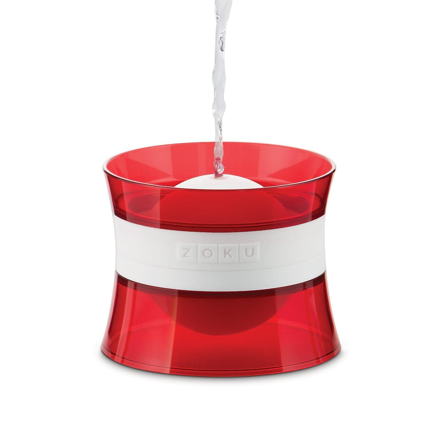 ZOKU Ice Ball Mold - 6.4cm stackable ice ball maker - ice spheres - pack of 2