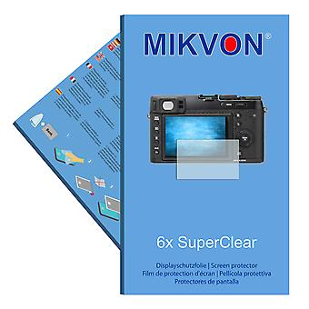 Fujifilm X100T screen protector- Mikvon films SuperClear