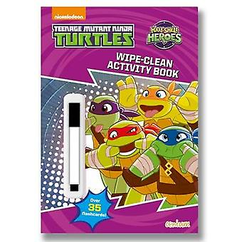 Half Shell Heroes Wipe-Clean Activity Book - 9781910916698 Book